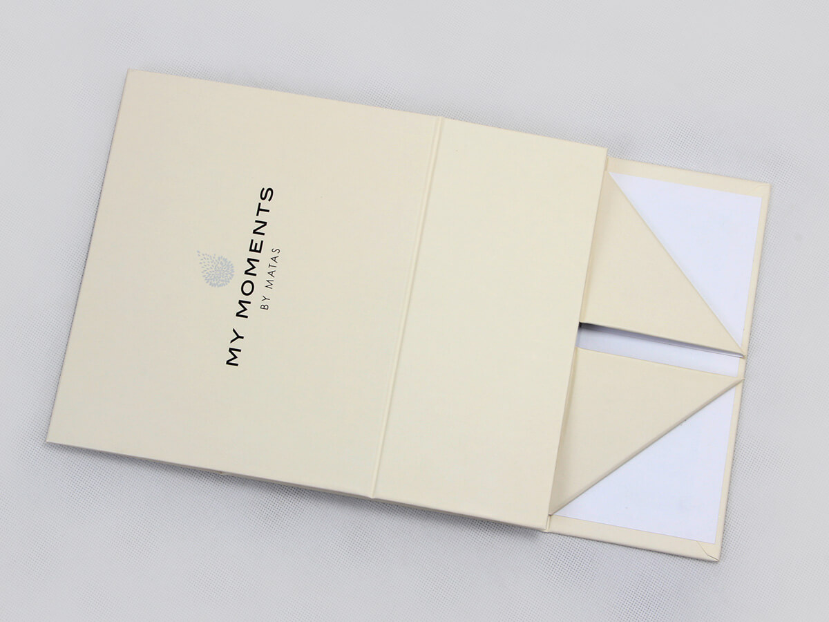 Cosmetic Cream Gift Packaging Boxes Folding Detail Display