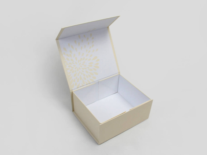Cosmetic Cream Gift Packaging Boxes Open Way