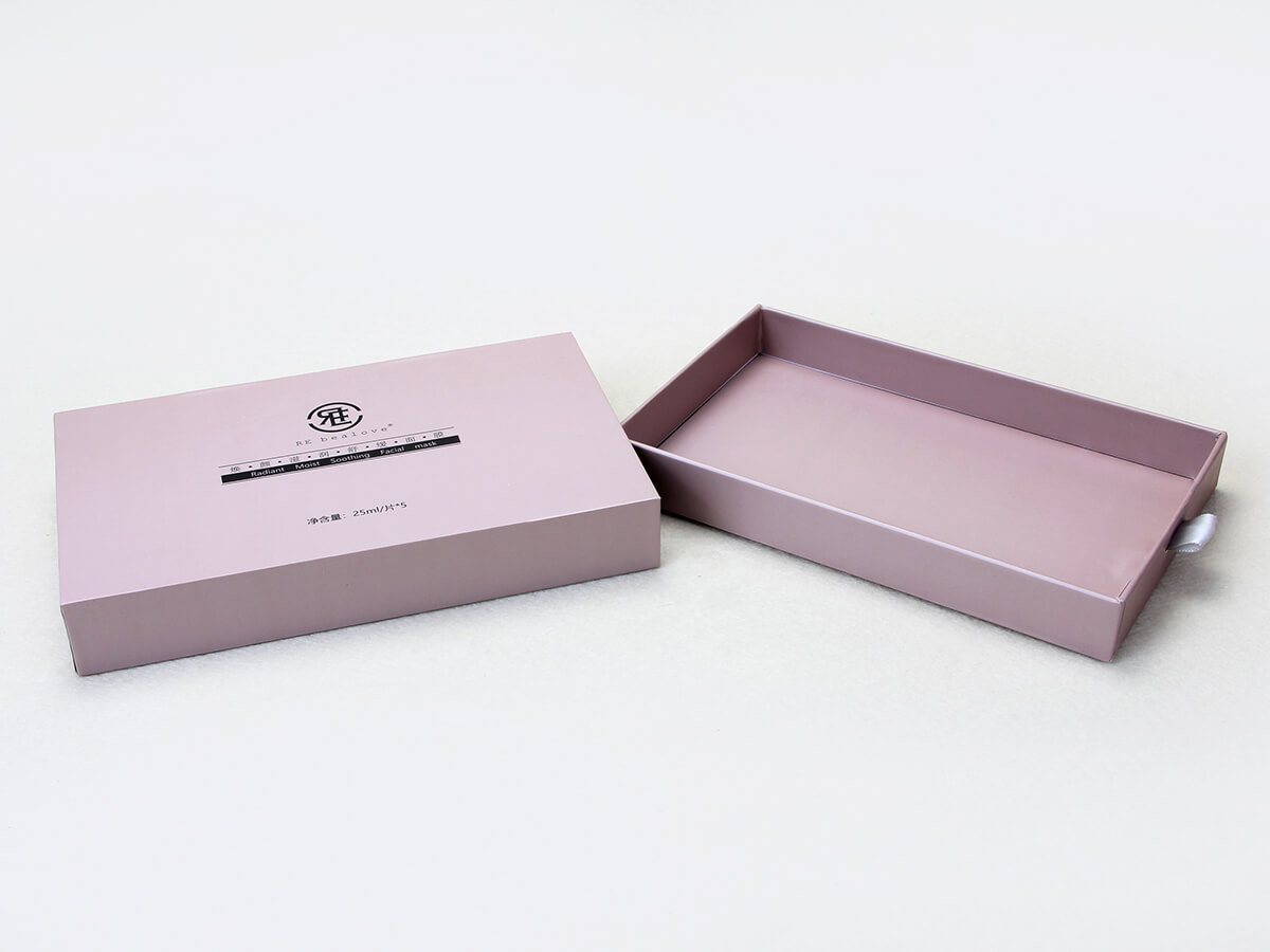 Cosmetic Mask Rigid Packaging Boxes