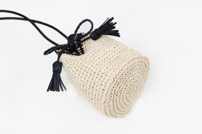 Custom Handmade Straw Pouches Bag base