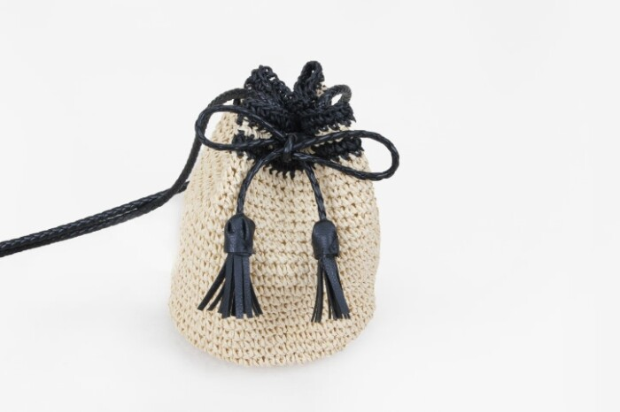 Custom Handmade Straw Pouches Bag style
