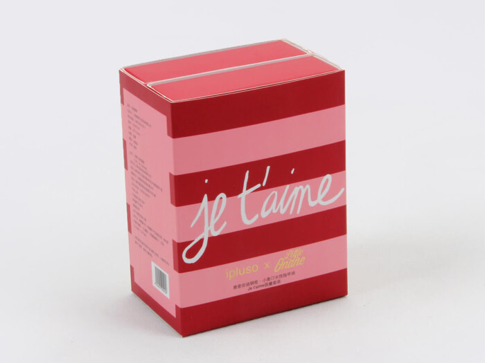 Double Layers Stationery Pen and Ink Packaging Boxes set Close Way