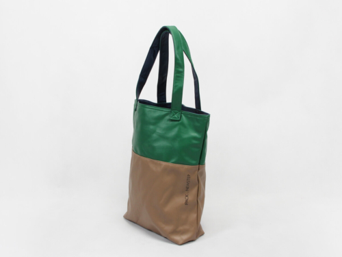 Double Sided PU Canvas Bags