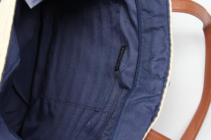 ECO-friendly Straw Stalk Woven Beach Bags Detail