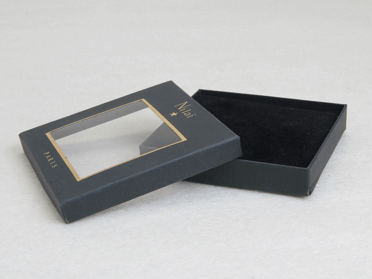 Earring Packaging Boxes Side Display