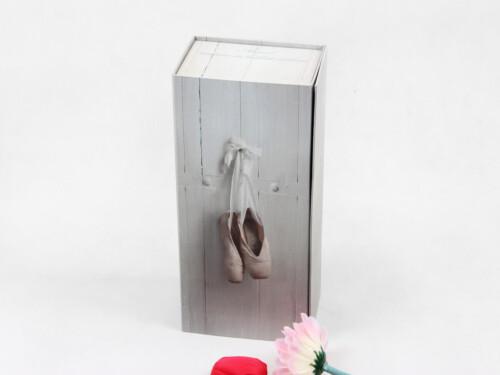 Elegant Ballet Shoe Packaging Boxes