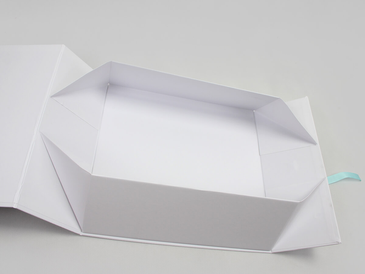 Exclusive Folding Garment Boxes With Ribbon Magnetic