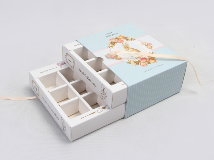 Fairy Tale Double Layer Candy Chocolate Packaging Set