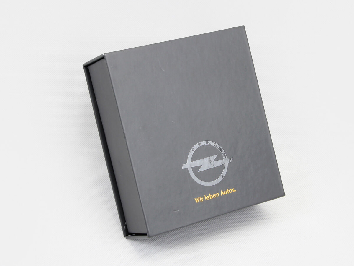 High-end Clamshell Car Key Gift Boxes Detail