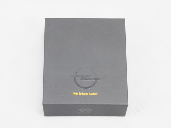High-end Clamshell Car Key Gift Boxes Logo Printed