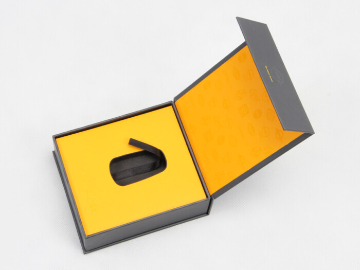 High-end Clamshell Car Key Gift Boxes Right Display
