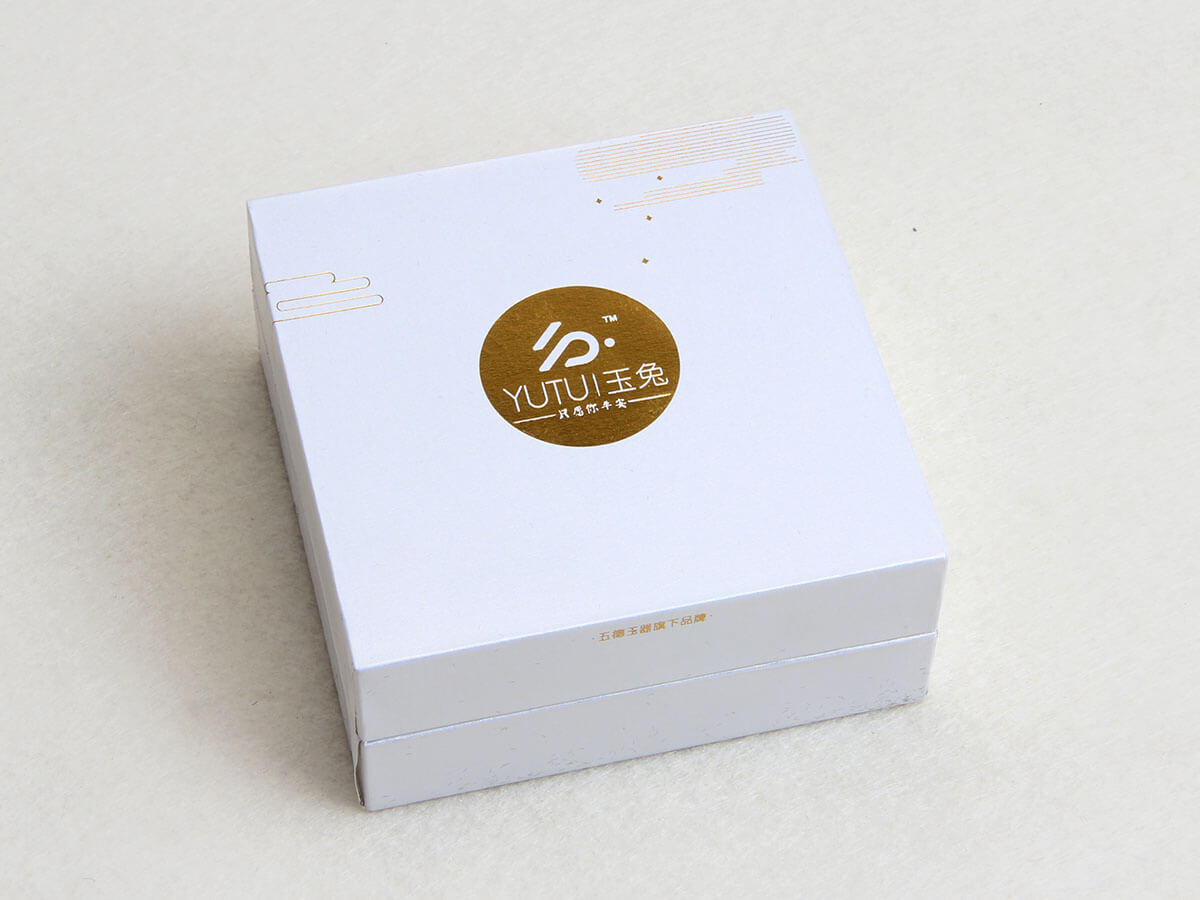 Jade Rabbit Jewelry Packaging Boxes LOGO Technique