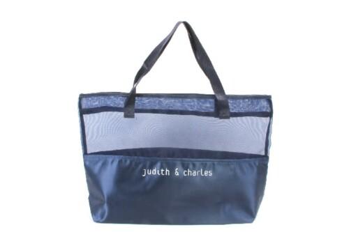Large Mesh Nylon Satin Tote Bags Beach Bags style