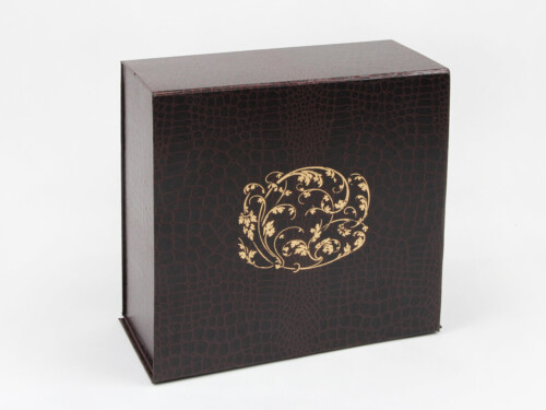 Leather Paper Garment Packaging Boxes