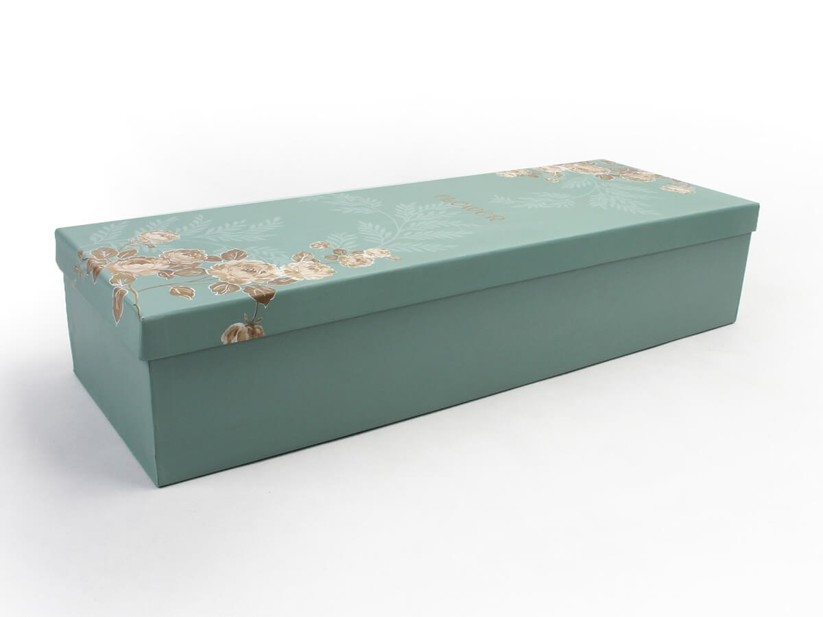 Lengthen Flower Packaging Boxes Side Display