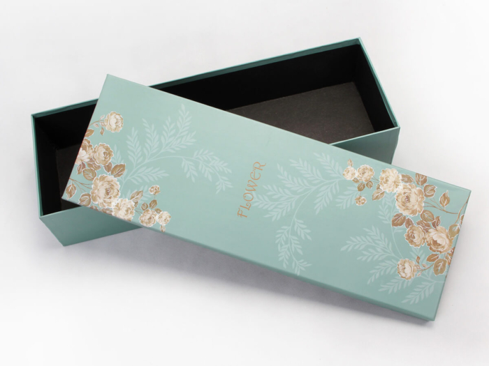 Lengthen Flower Packaging Boxes Top Lid