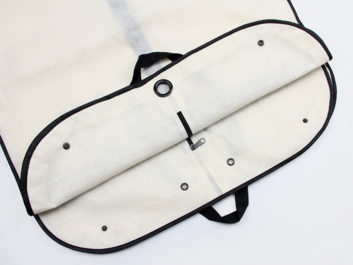 Long Garment Coats Cover Bags Hidden Snap Button