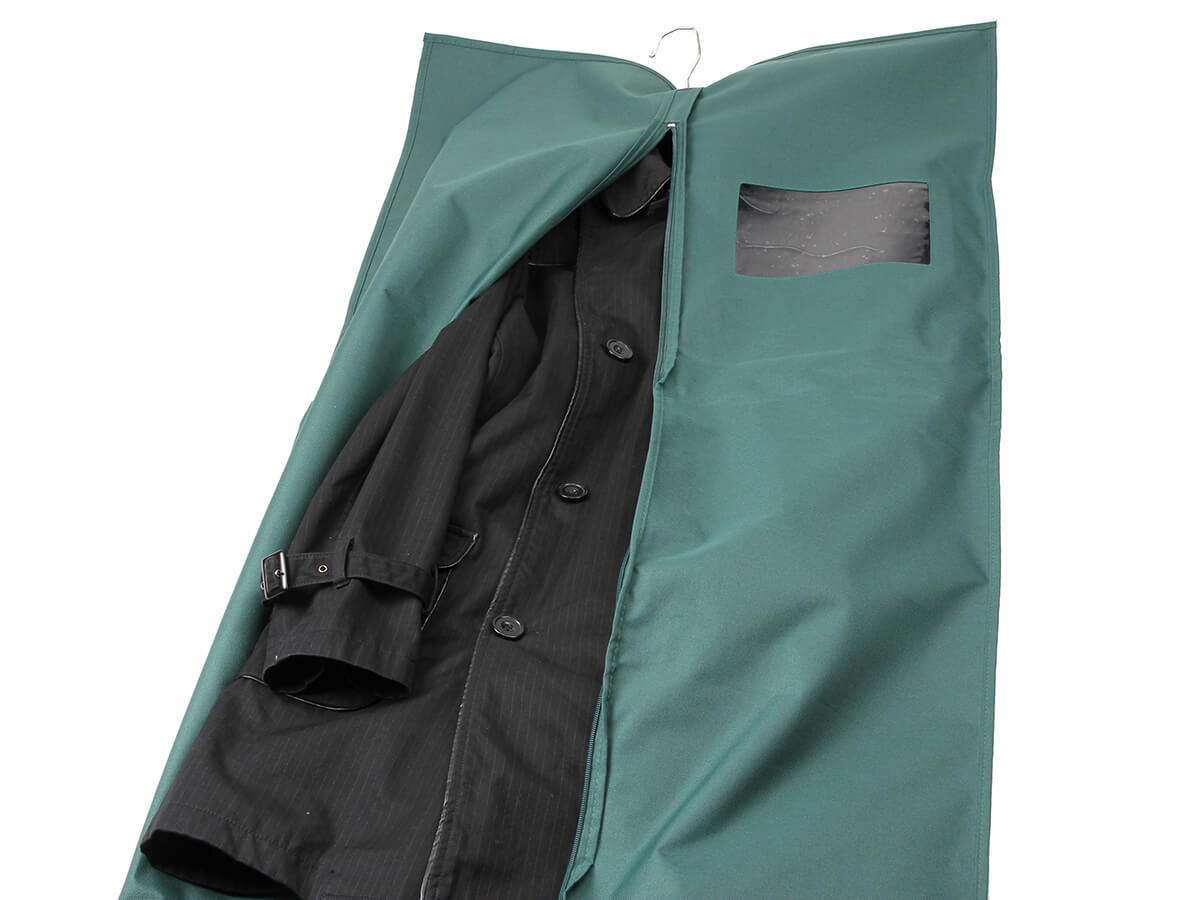 Long Section Garment Dress Bags Display