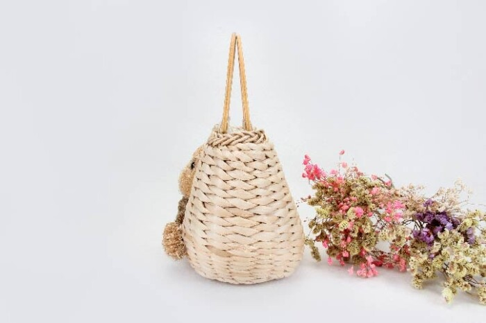 Lovely Woven Beach Bags side