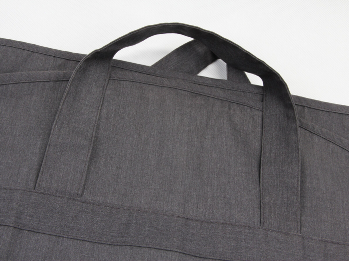 Luxury Garment Suit Cover Bags Handle Material