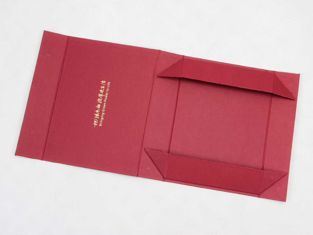 Luxury Scarf Gift Folding Boxes With Magnets Folding