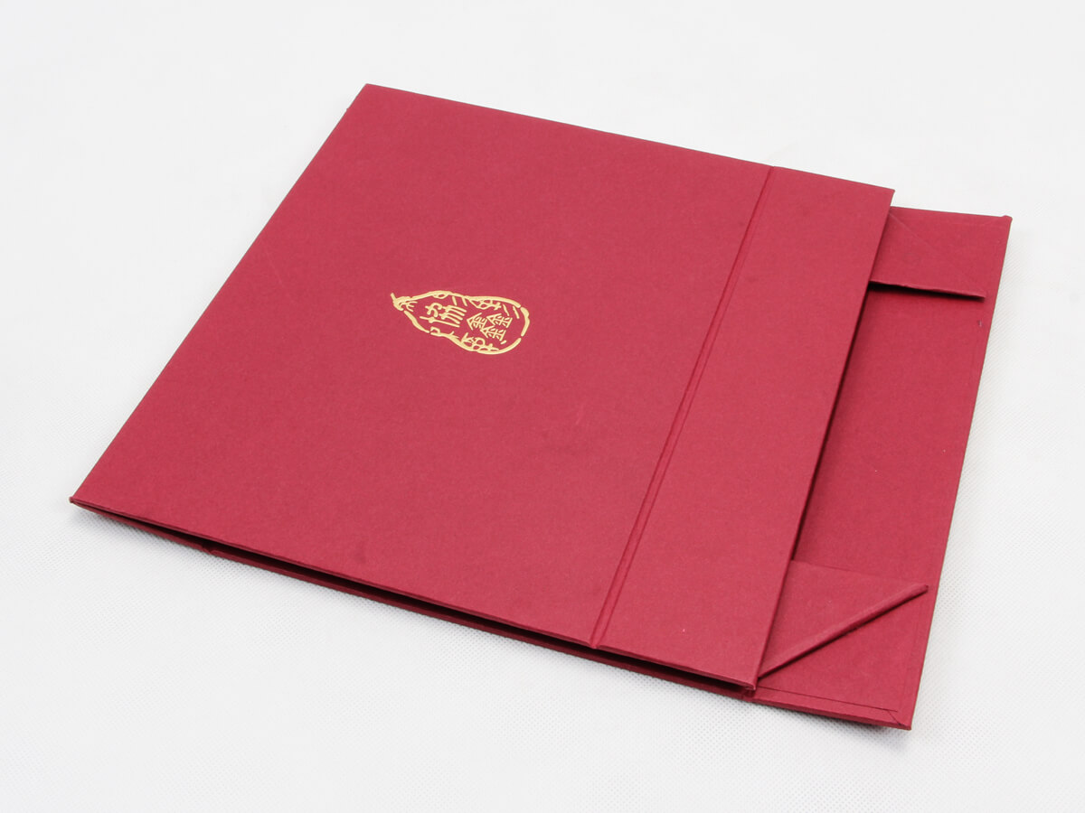 Luxury Scarf Gift Folding Boxes With Magnets Material