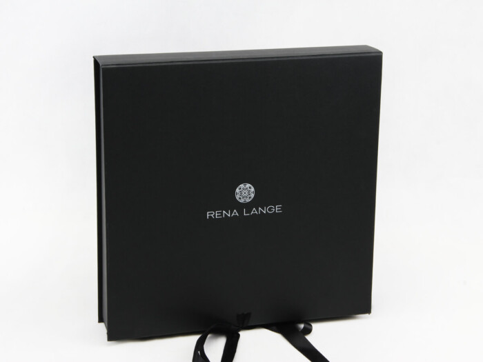 Luxury Women Dress Packaging Boxes With Ribbon