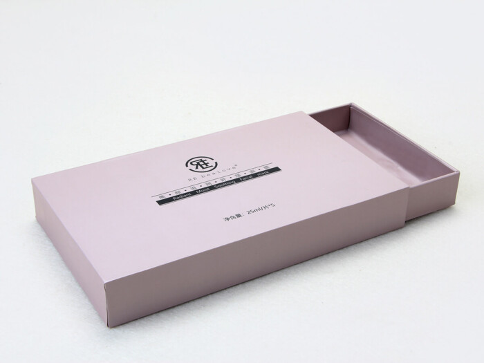 Mask Rigid Packaging Boxes Drawer Way
