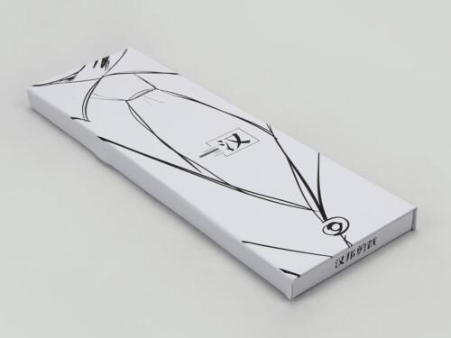 Novelty White Necktie Gift Boxes