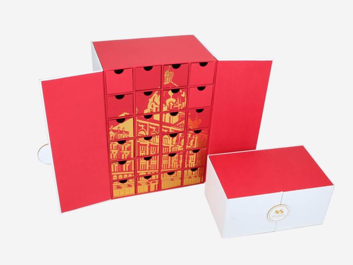Original Beauty Makeup Calendar Packaging Gift Boxes