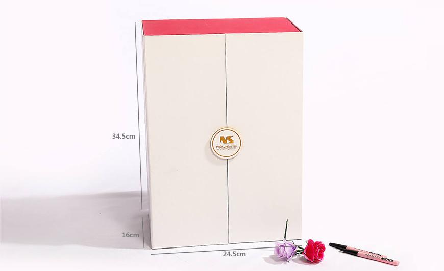 Original Beauty Makeup Calendar Packaging Gift Boxes Size