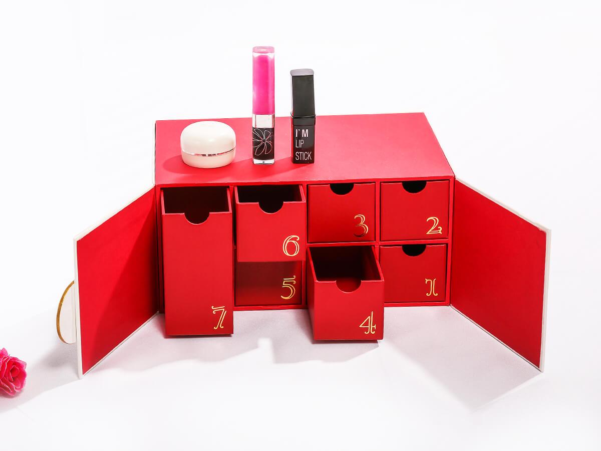 Original Beauty Makeup Calendar Packaging Gift Boxes-Villa