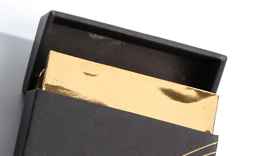 Original Desgine Cigarette Packaging Boxes Drawer Open Detail
