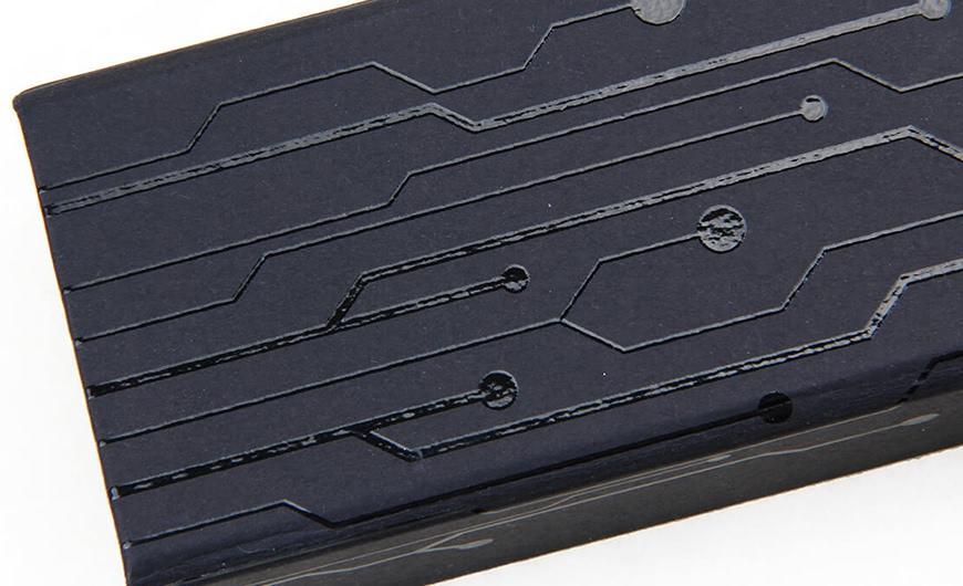 Original Desgine Stylus Packaging Boxes Side Corner Detail