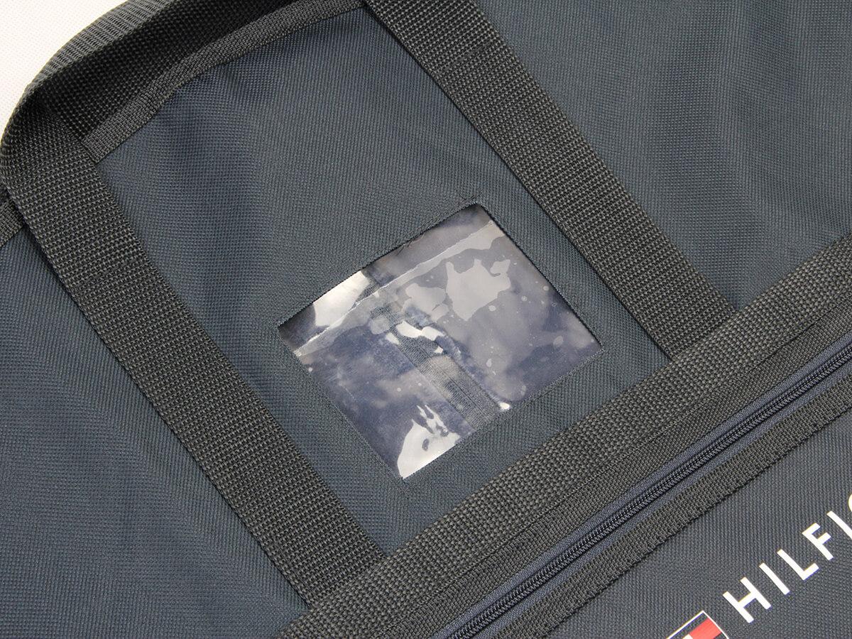 Oxford Cloth Garment Suit Bags PVC Transparent