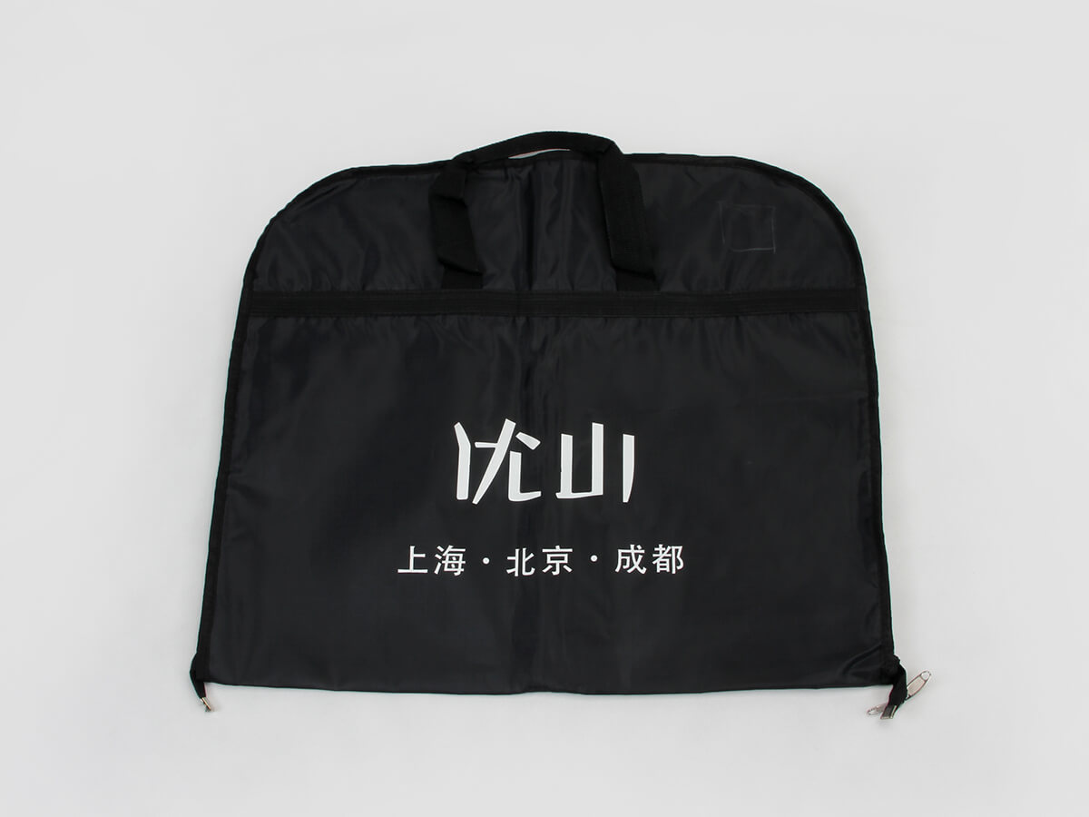 Polyester Garment Suit Cover Bags Logo Printed