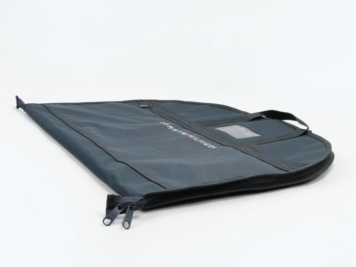 Premium Oxford Cloth Garment Suit Bags Corner Display