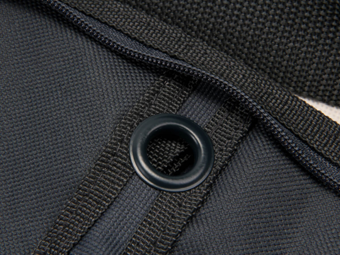 Premium Oxford Cloth Garment Suit Bags Material Detail