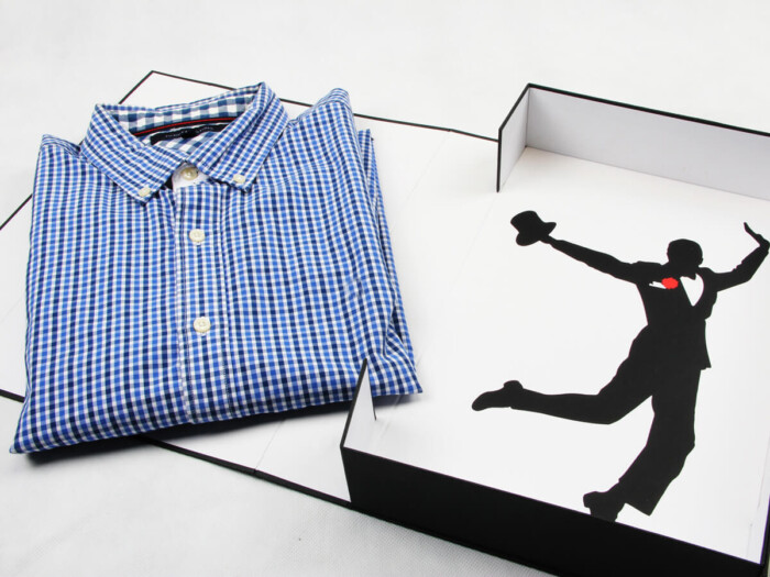 Prom Garment Shirt Packaging Boxes