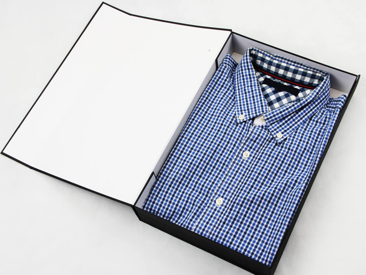 Prom Garment Shirt Packaging Boxes With Shirt