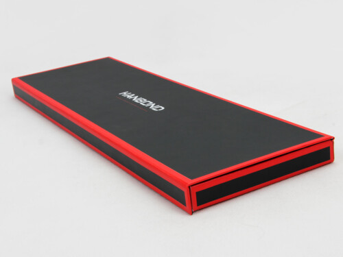 Red Inlaid Dark Necktie Packaging Boxes