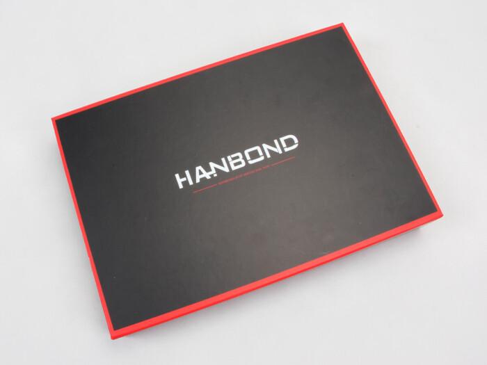 Red Inlaid Dark Shirt Packaging Boxes Display