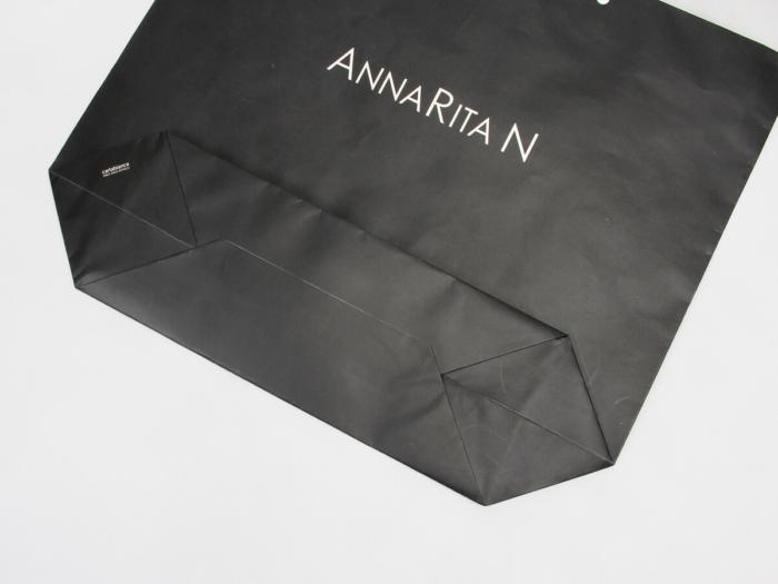 Ship Type Garment Shopping Bags Bottom Detail