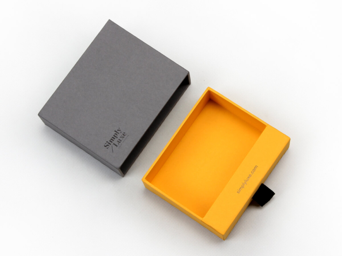 Simple Luxury Gift Packaging Boxes Detail