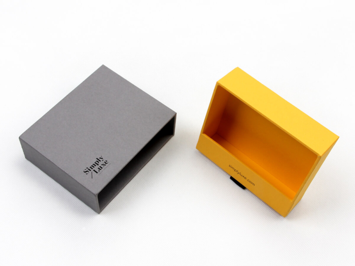 Simple Luxury Gift Packaging Boxes Material