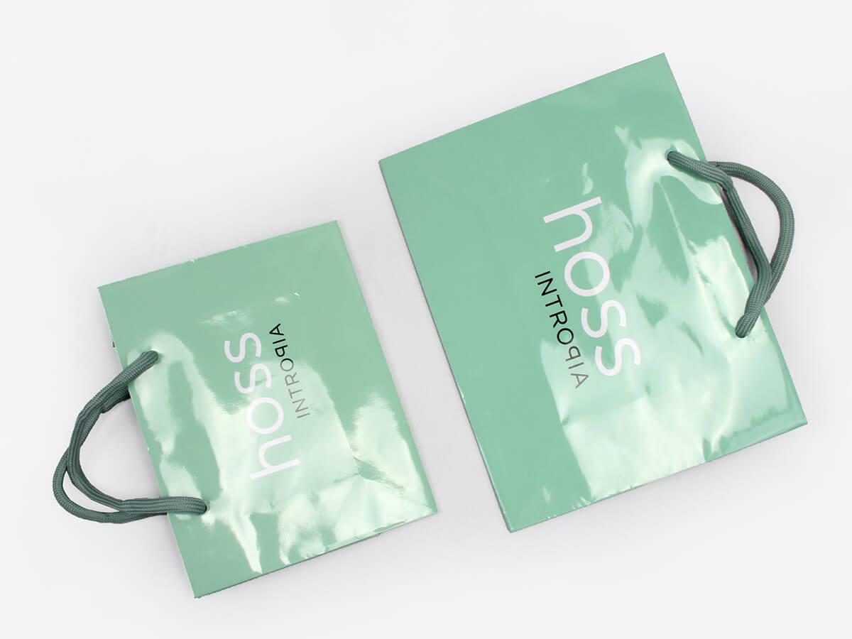 Skincare Shopping Paper Bags Folding Way
