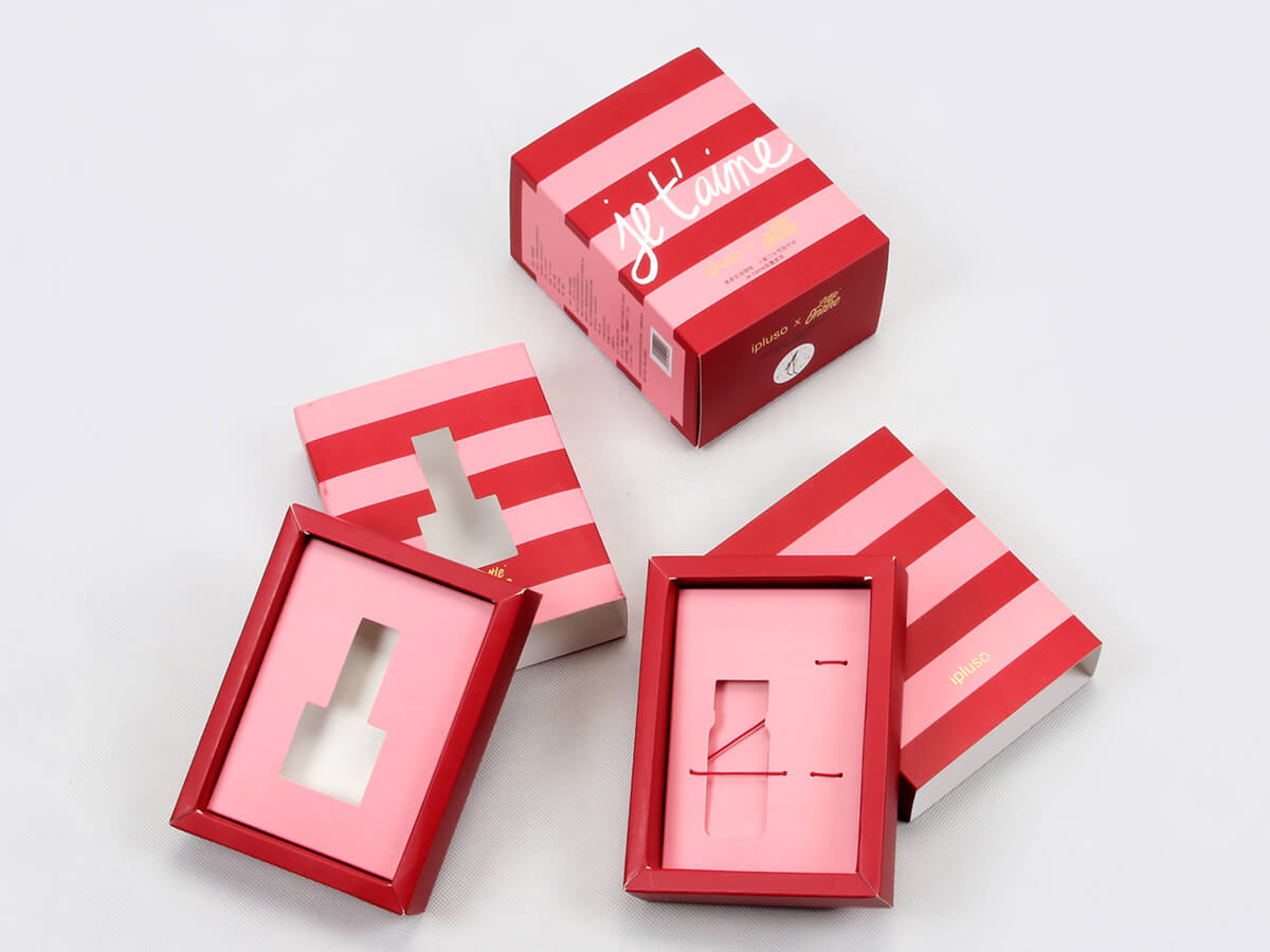 Stationery Pen and Ink Packaging Boxes Set Detail