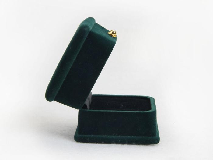 Verdant Velvet Jewelry Boxes