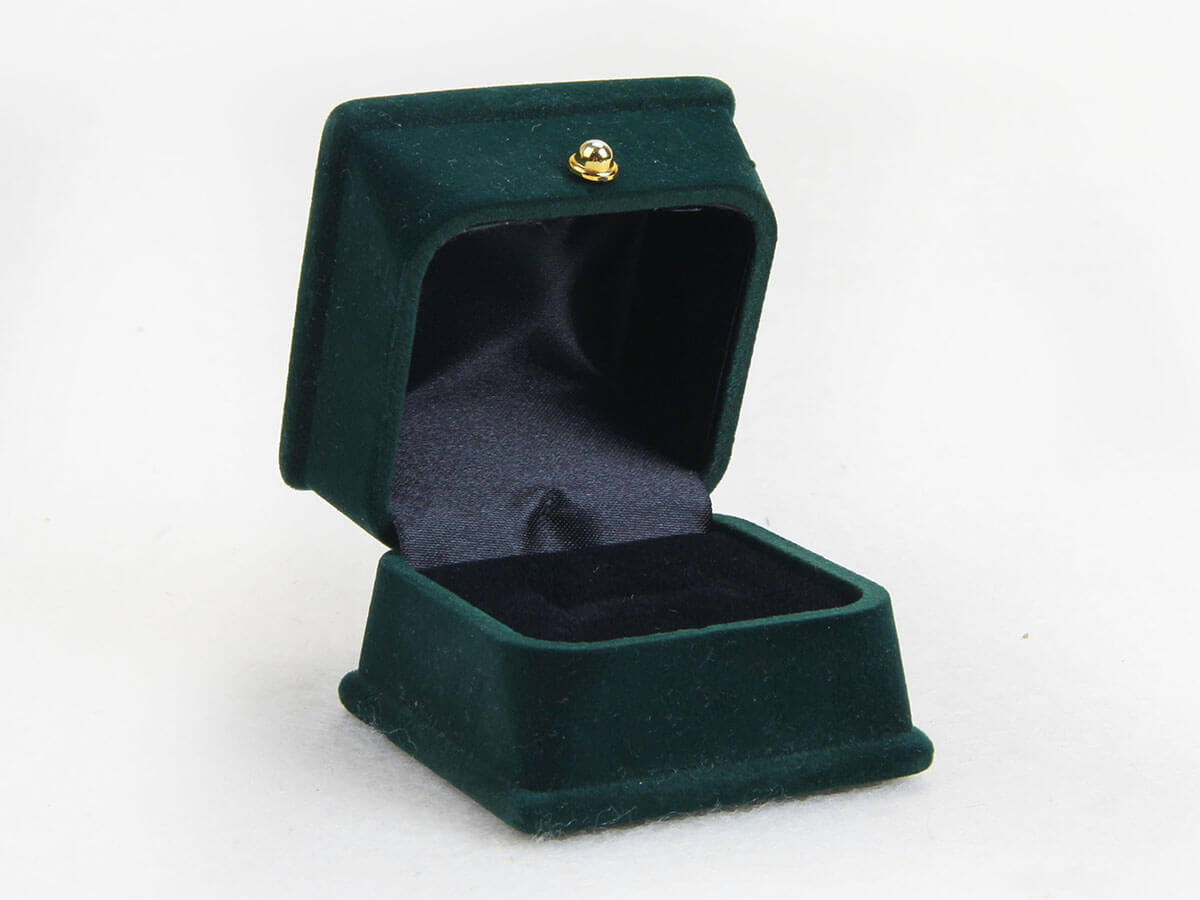 Verdant Velvet Jewelry Boxes Open Way