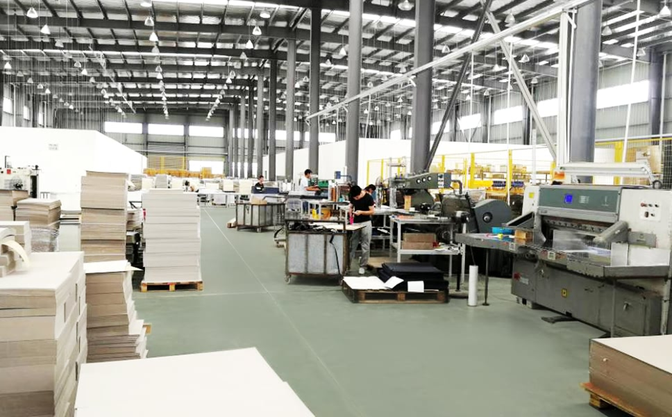 newstep packaging factory workshop